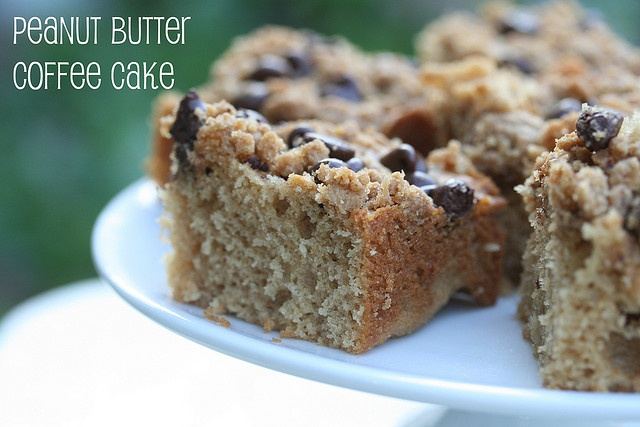 Peanut Butter Coffee Cake | Cakes | Pinterest