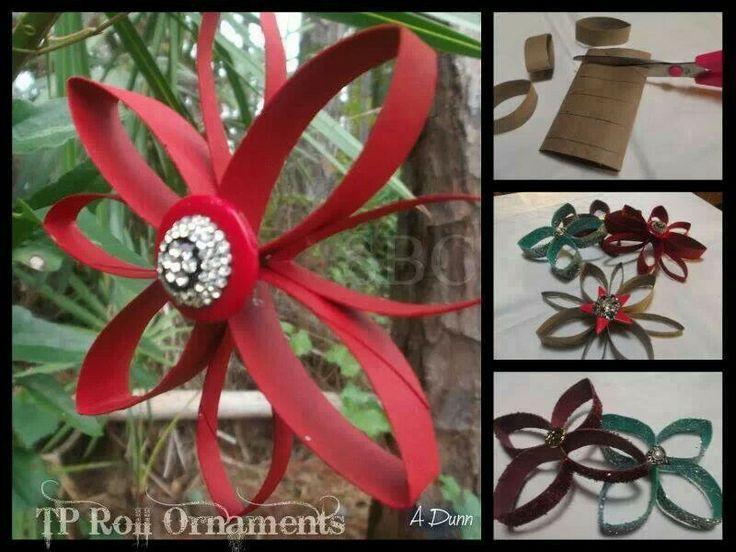 Decorating Ideas > Toilet Paper Roll Decorations  Christmas  Pinterest ~ 043503_Christmas Decoration Ideas Using Toilet Paper Rolls