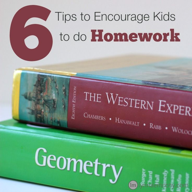how to motivate kids to do homework