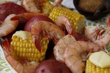 Low Country Seafood Bake Recipe — Dishmaps