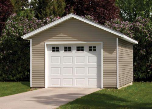 14 39 w x 20 39 l x 8h 1 car garage carport ideas pinterest for Single garage kit