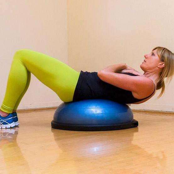Bosu Ball Total Body Workout: A Total-Body BOSU Workout.