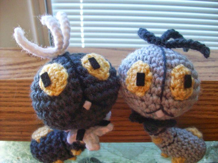Crochet Patterns Pokemon Characters : Scatterbug - Pokemon Character - Free Amigurumi Pattern http ...