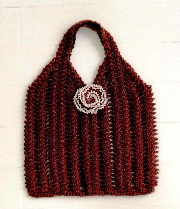 Crochet Bag - Chart Crochet Pinterest