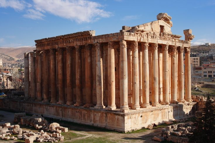 baalbek also called heliopolis is a spectacular