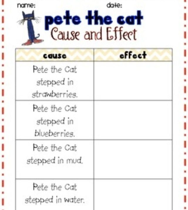 4th Grade Cause Effect Worksheets 4th Grade Printable – Cause and Effect Worksheets for 5th Grade