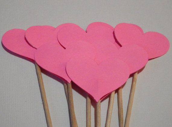 valentine cupcake picks