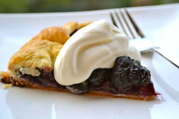 Dinner with Julie: Berry Galette with Vanilla Mascarpone Cream