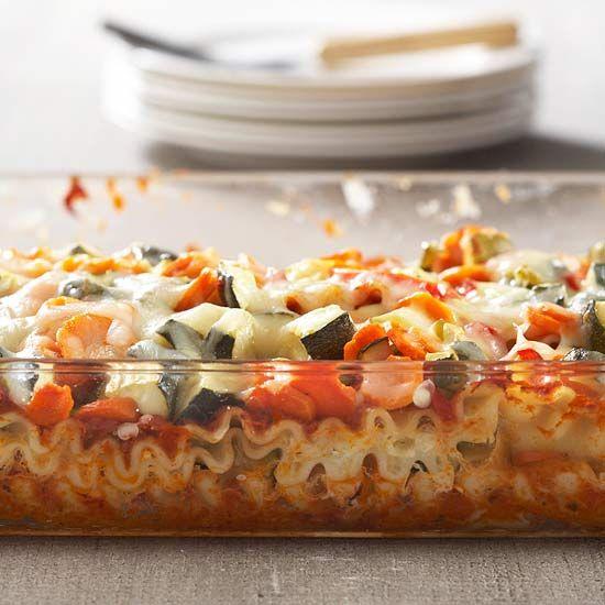 Roasted Vegetable Lasagna | Eat Your Veggies--Side Dishes | Pinterest