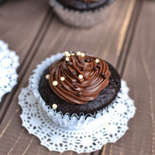 Basic Vegan Chocolate Cupcake | Cavity Worthy | Pinterest