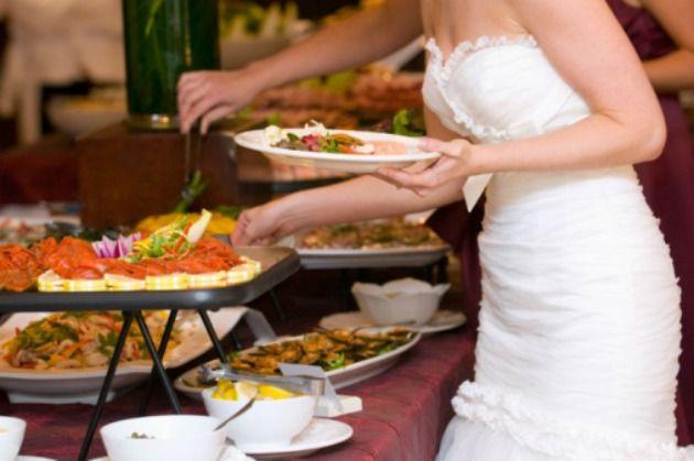 Cardápio para casamento rústico