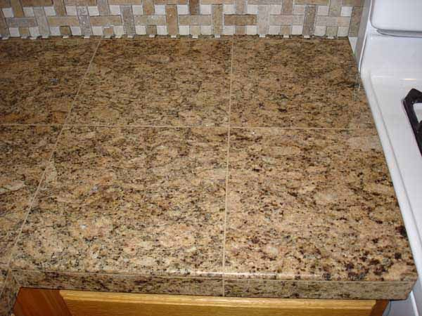 Granite Tile Counter Top Home Ideas Pinterest
