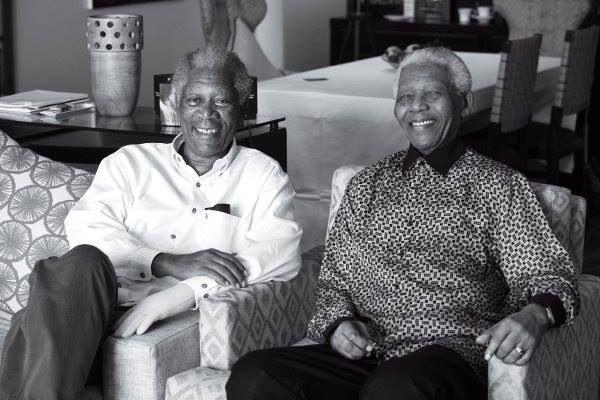Morgan FreemanNelson Mandela Morgan Freeman Comparison