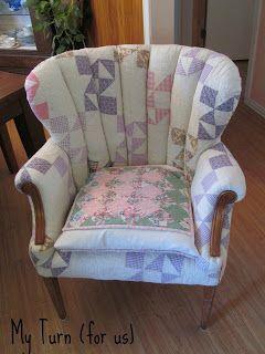 Patchwork Quilt Chair