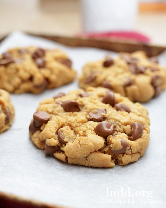 Peanut Butter Chocolate Chip Cookies for Two | Recipe