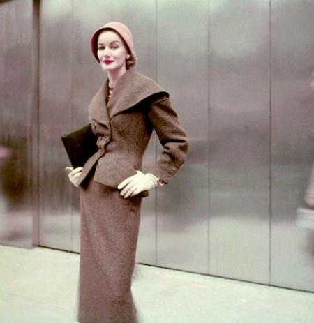 Sunny Harnett, Vogue, September, 1952  photo by Frances McLaughlin-Gill