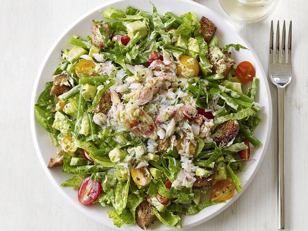 #FNMag's Crab and Avocado Salad #Avocado