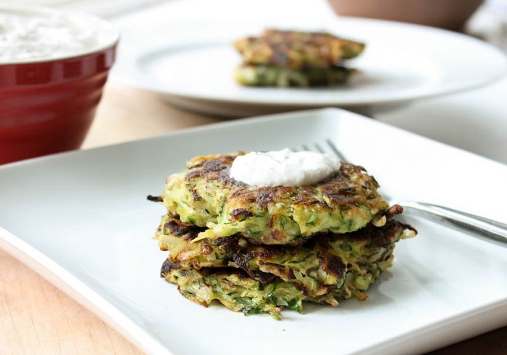 Zucchini Cakes with Lemon Zest | Recipes To Try | Pinterest