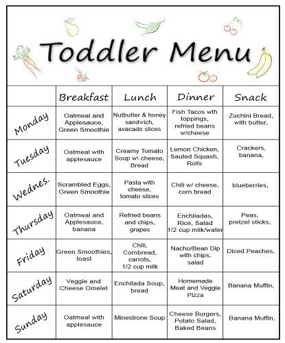 new toddler menu 1 food recipes keepers pinterest