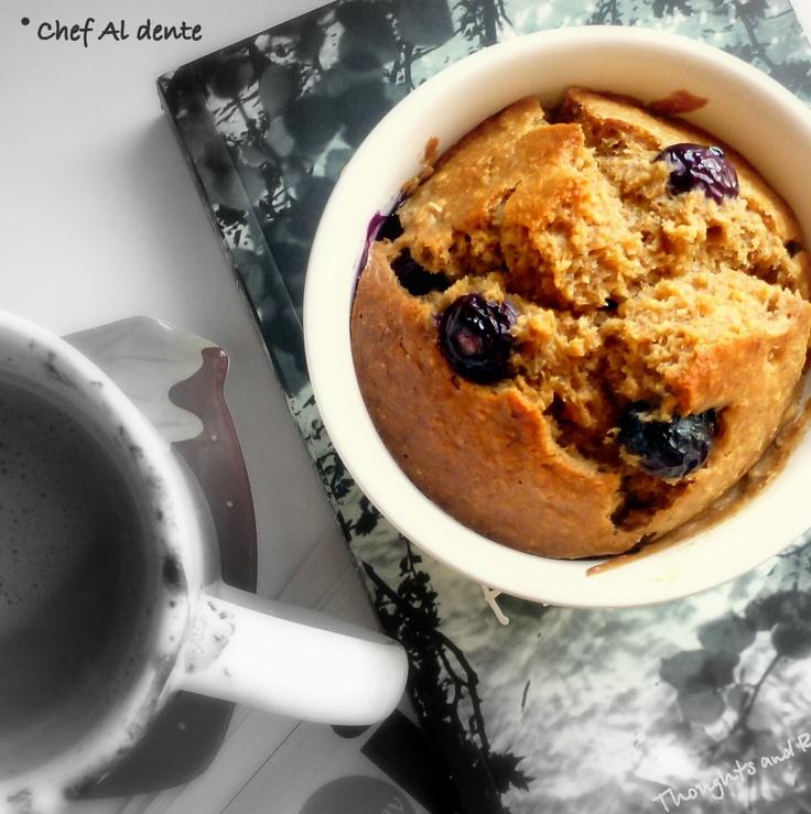 Banana Blueberry Oatmeal Scone-Cake | Scones | Pinterest