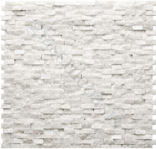beaux white stone backsplash kitchen pinterest