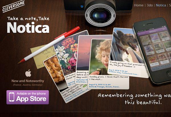 31 New Inspirational iPhone & iPad Application Websites