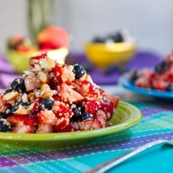 Quinoa Berry Almond Salad | Yummy Salads | Pinterest