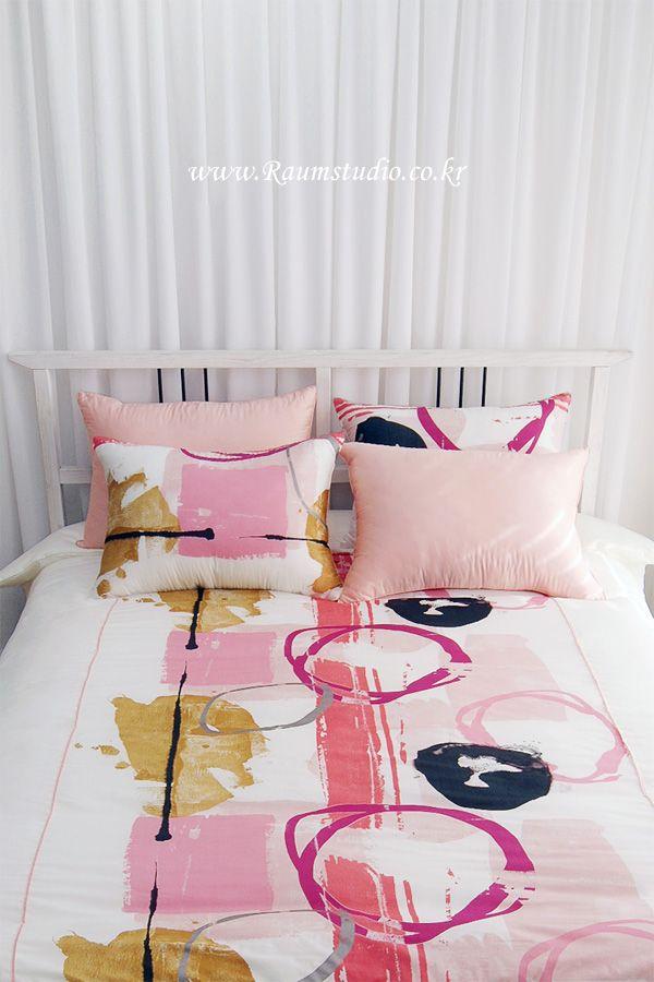 Raum studio muse satin bedding duvet covers pinterest for Studio one bed cover