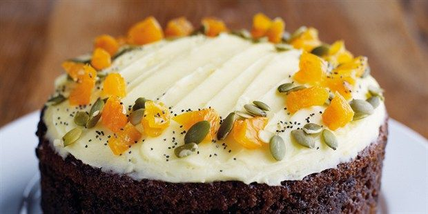 Farmhouse Carrot Cake | Glorious Food | Pinterest
