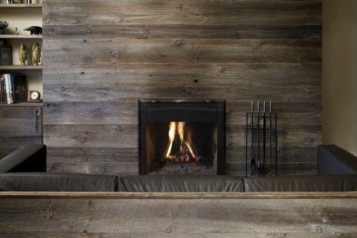 Fireplace Barn Wood Id Es D Co Pinterest