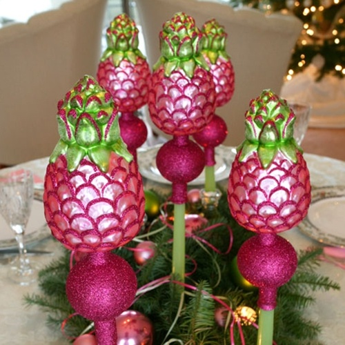 Pink Pineapple Christmas Tree Toppers The Pineapple
