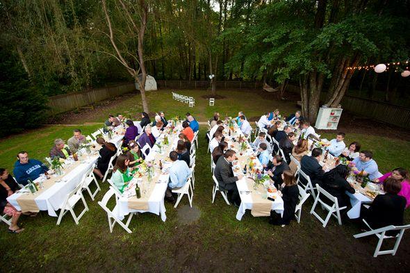 Diy Wedding In Backyard : DIY Backyard Wedding  DIY  Pinterest