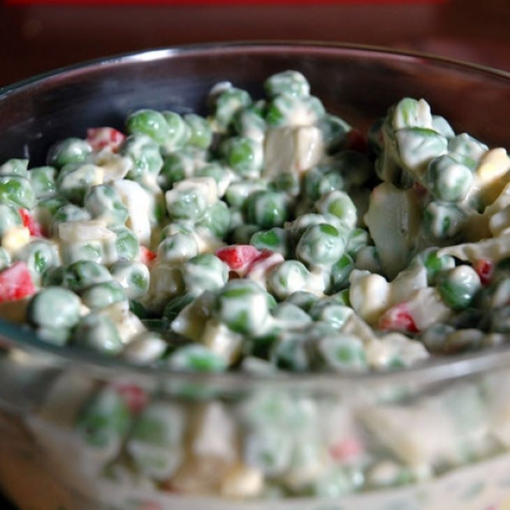 Cold Pea Salad | Food to Love | Pinterest