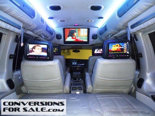 2005 gmc savana explorer conversion van conversion vans for sale pinterest conversion van