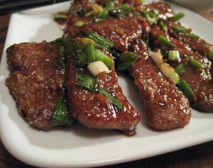 Restaurant Style Mongolian Beef Recipe | Beef | Pinterest