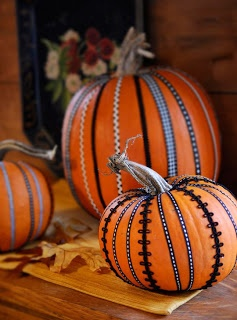 5 no carve ways to decorate a pumpkin