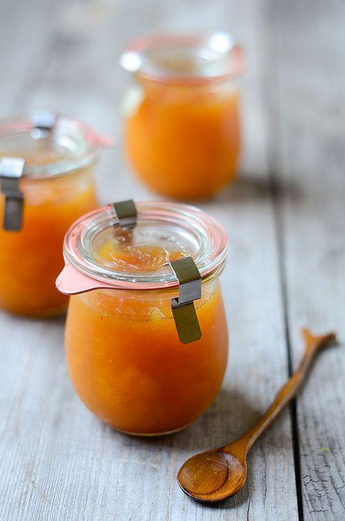 Homemade Peach Jam | Things In A Jar | Pinterest