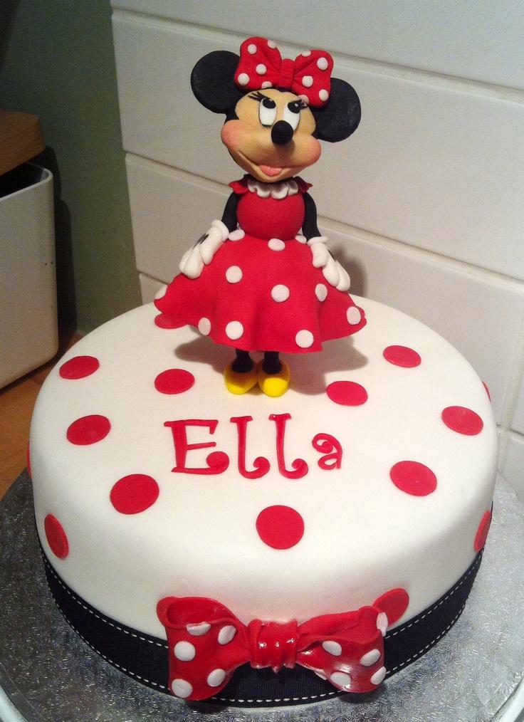 Minnie Mouse birthday cake  2nd. Yr. Birthday Cakes & Ideas  Pinter ...