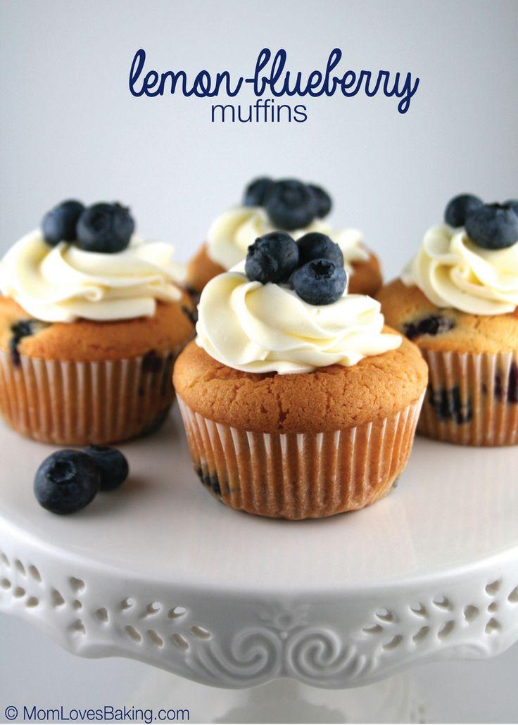 Lemon-Blueberry Muffins - finalist recipe in the 47th Pillsbury Bake ...