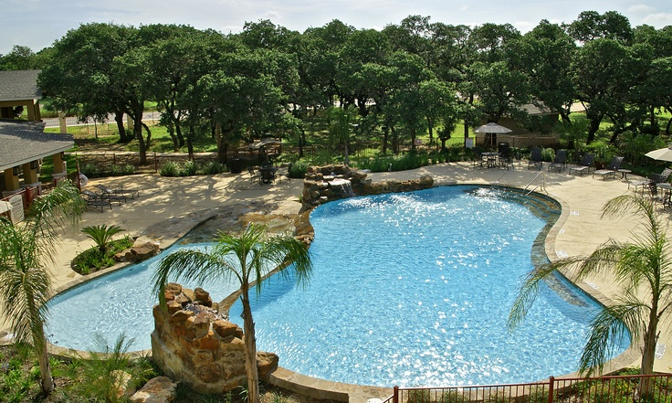 Hill Country Apartment Pool Blue Haven Pools San Antonio Tx Pin
