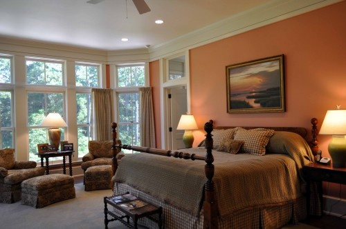 warm color soothing bedrooms nooks and bathrooms