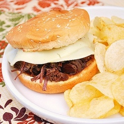 Best Ever Beef Dip Sandwiches: Ridiculously easy to make and super