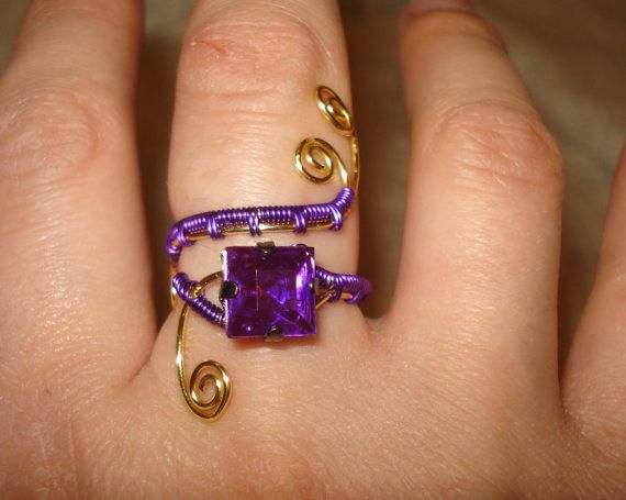 More like this: purple rings , adjustable ring and rings .