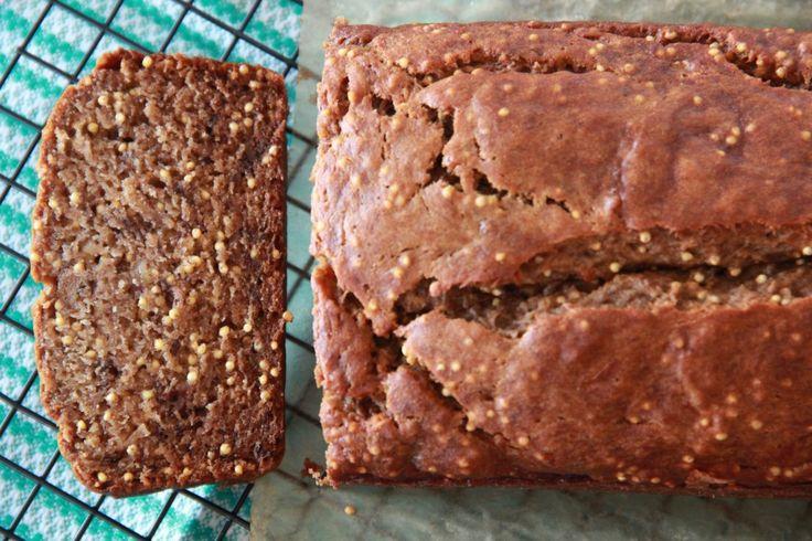 Crackly Rye Banana Bread | Breads | Pinterest