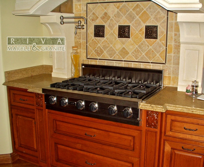 Wood Countertop With Stove : Countertop stove My Dream Kitchen Pinterest