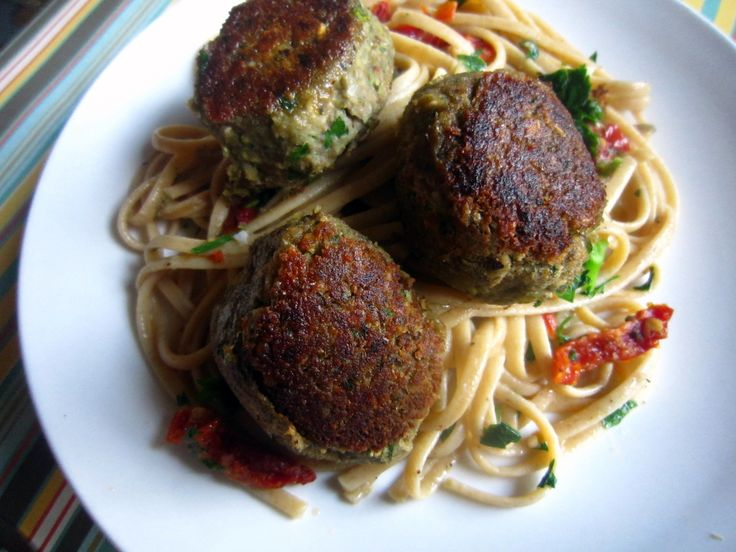 lentil meatballs...this is a recipe tweaked from another recipe, which ...