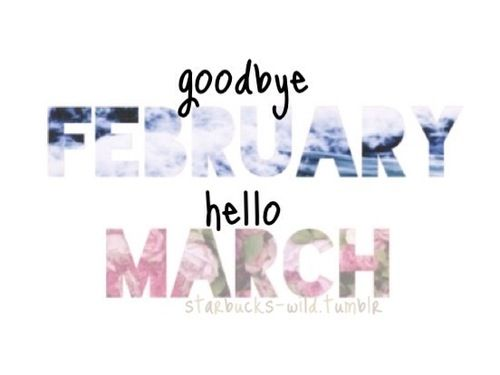 Happy March.... Let this be a great month for everybody!!!!!!!!♡♡