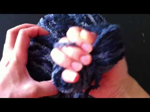 Crocheting With Your Hands : Winding a pull skein with your hands CRoCHET HooKs, Knitting needle ...