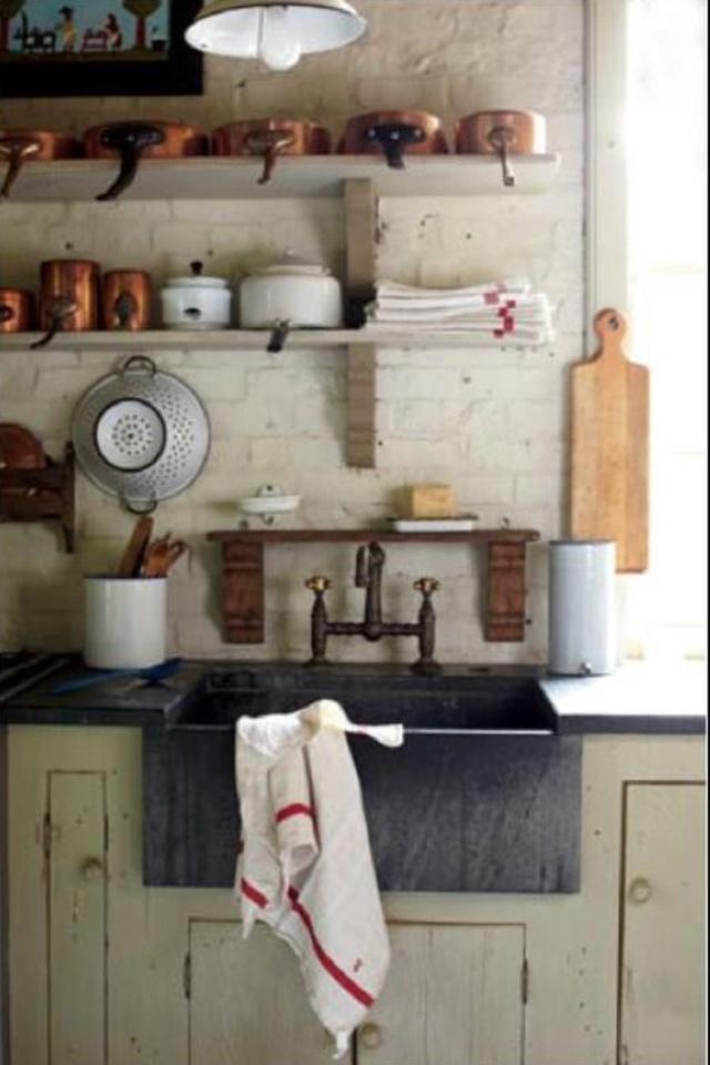 Rustic Farm Kitchen : Rustic kitchen  Farm kitchens  Pinterest