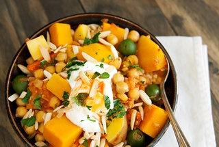 Moroccan butternut squash chickpea stew | yum | Pinterest